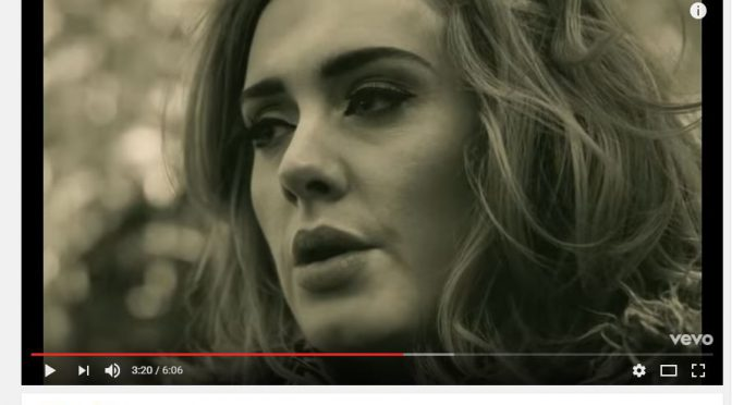 Adele video aumento vendite