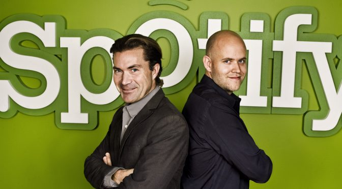 Cambia il vertice di Spotify: lascia Lorentzon