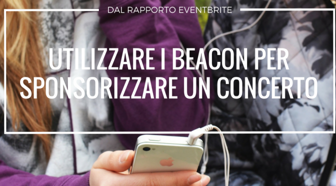 Utilizzare i beacon per sponsorizzare un evento