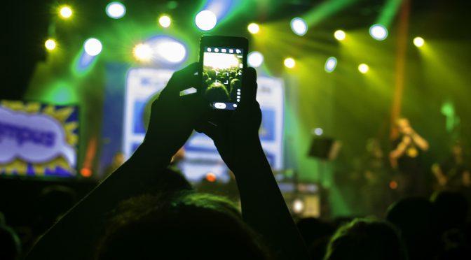 Social media esperienza concerti