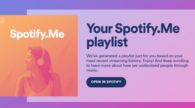 Spotify.me: scopri gli insight dei tuoi ascolti